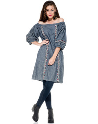 Lagos Dress Chambray
