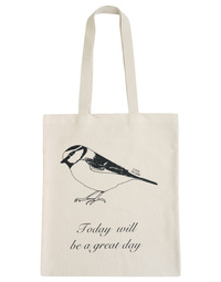 Bird Canvas Tote