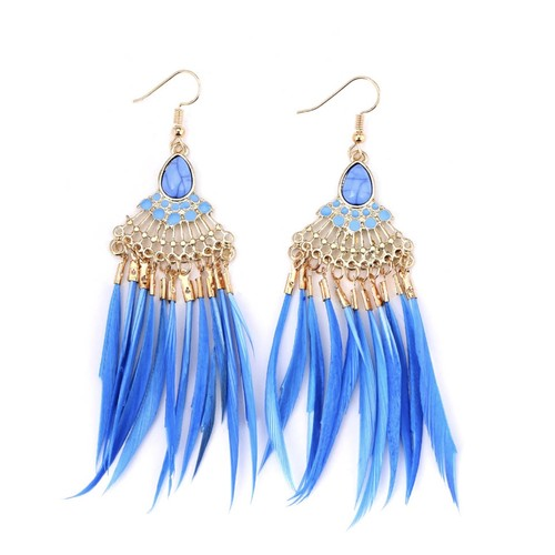Feather Statement Earring
