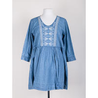 Naudic Burlington Embroidered Dress
