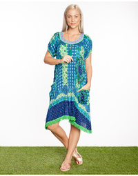 Sao Paulo Dress Tigerlilly Print