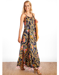 Criss Cross Maxi Dress Versailles