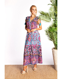 Folly Maxi Dress in Texas