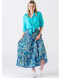 Bailey Skirt Paris Print