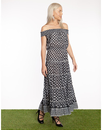 Jazz Maxi Dress Cheetah
