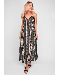 Northern Lights Lattice Maxi